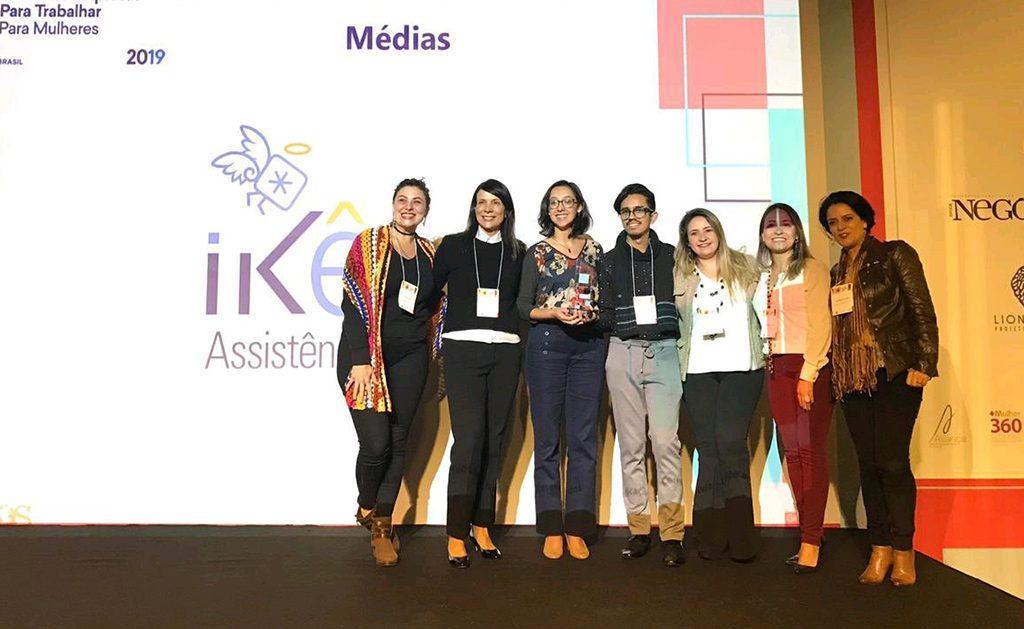 GPTW Mulher: Ikê Assistência Brasil recebe certificação por práticas de igualdade de gênero e diversidade