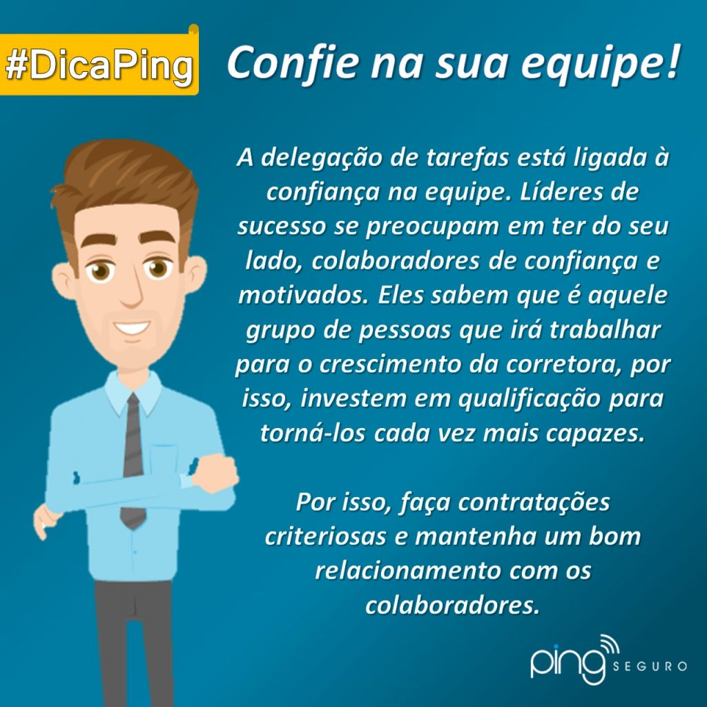 #DicaPing – Confie na sua equipe!