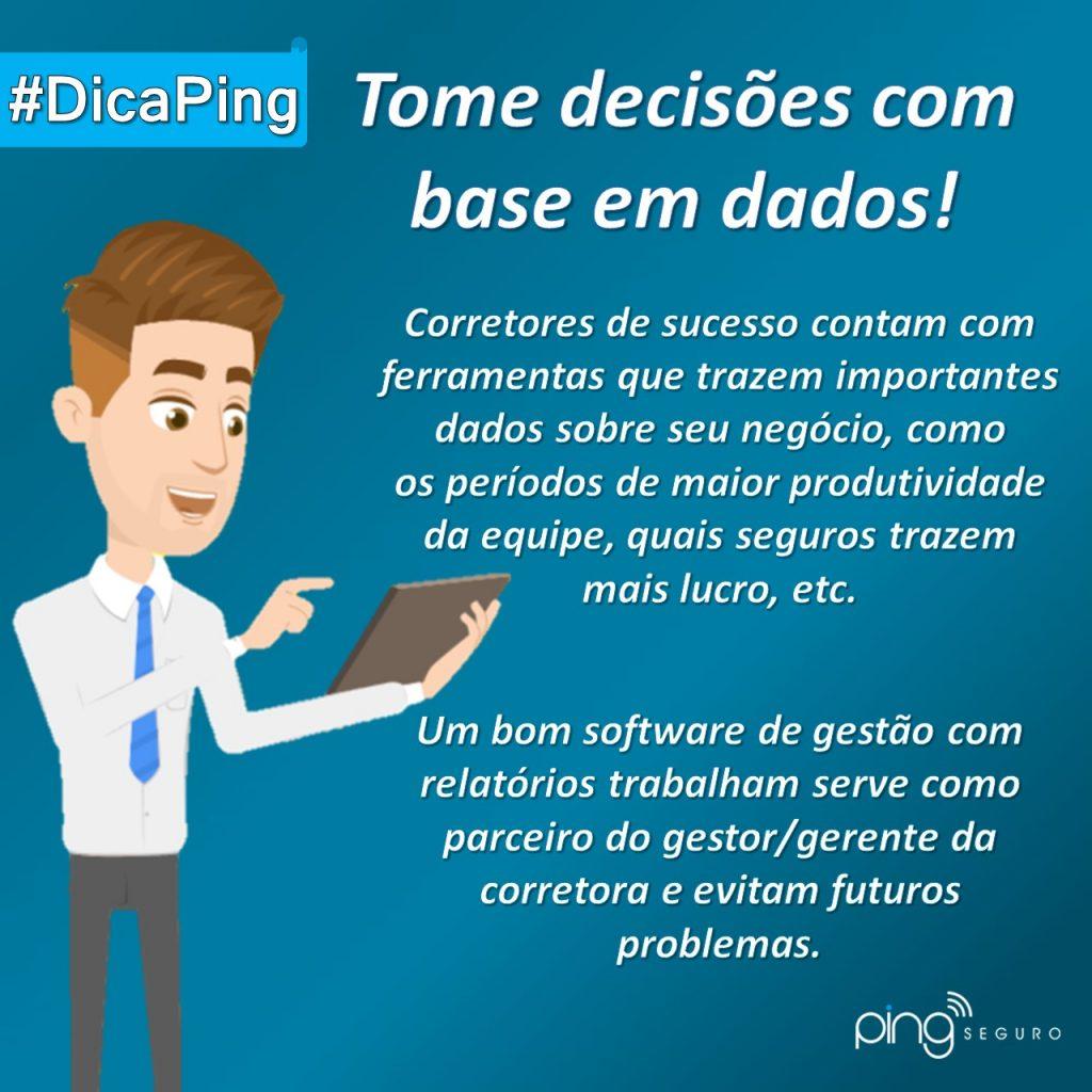 #DicaPing – Se baseie em dados!