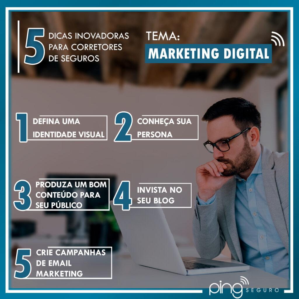 5 Dicas – Marketing Digital!