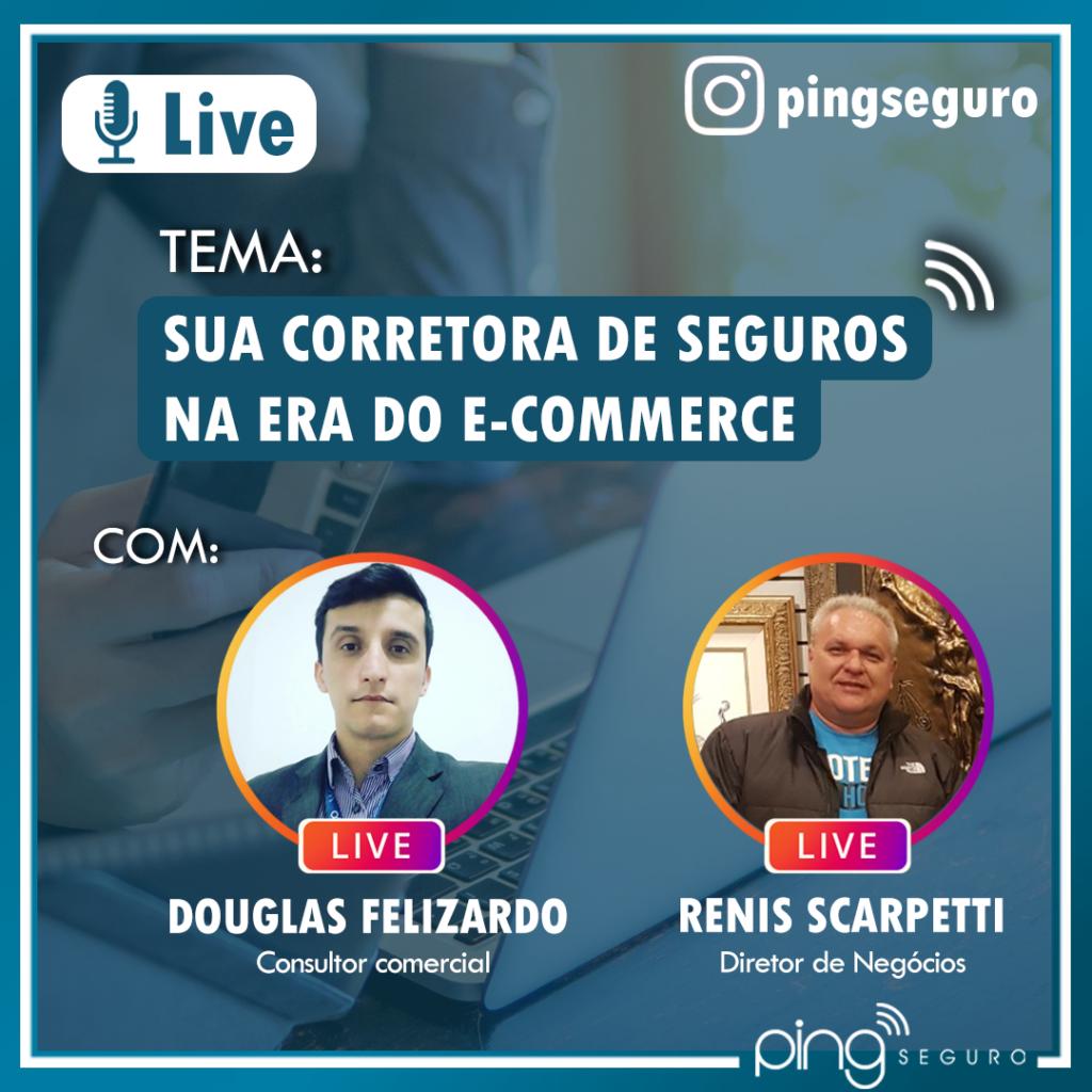 Live – Sua corretora e o e-commerce