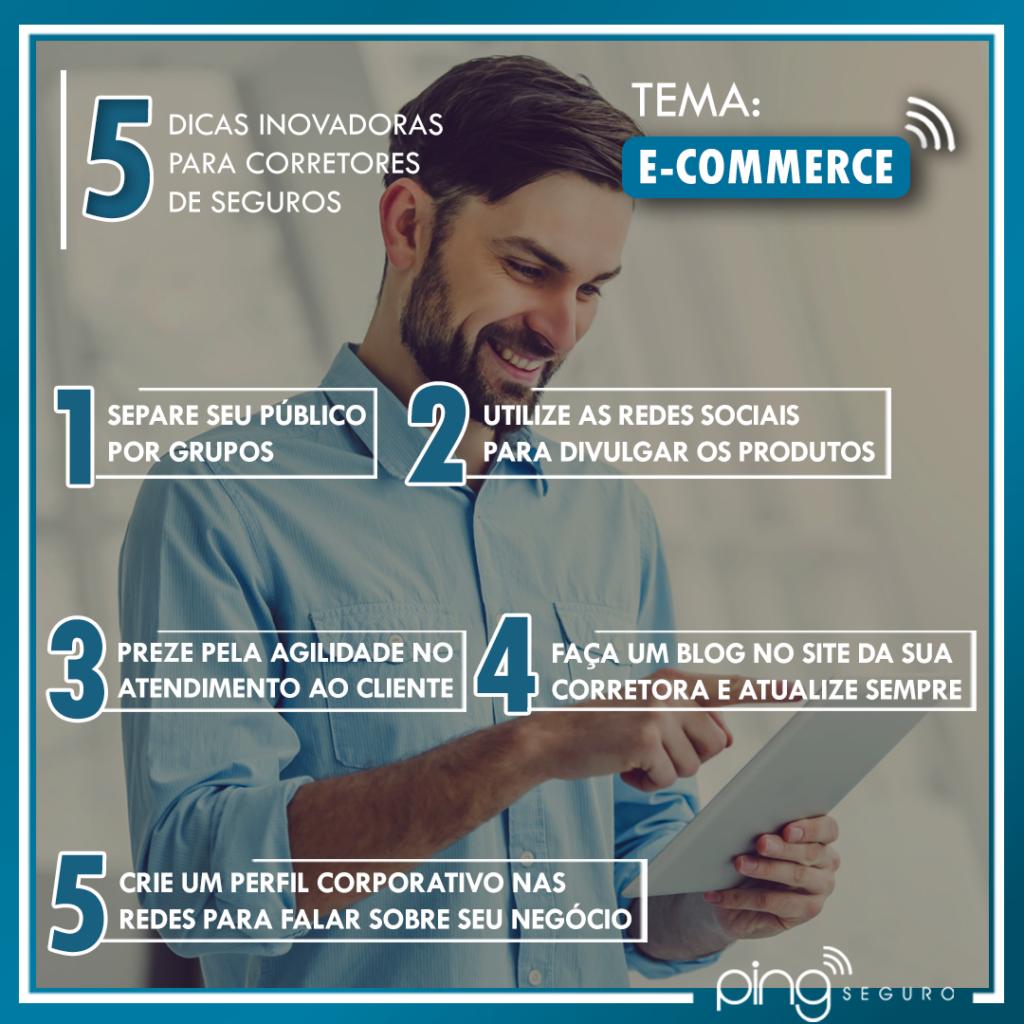 5 dicas – E-commerce