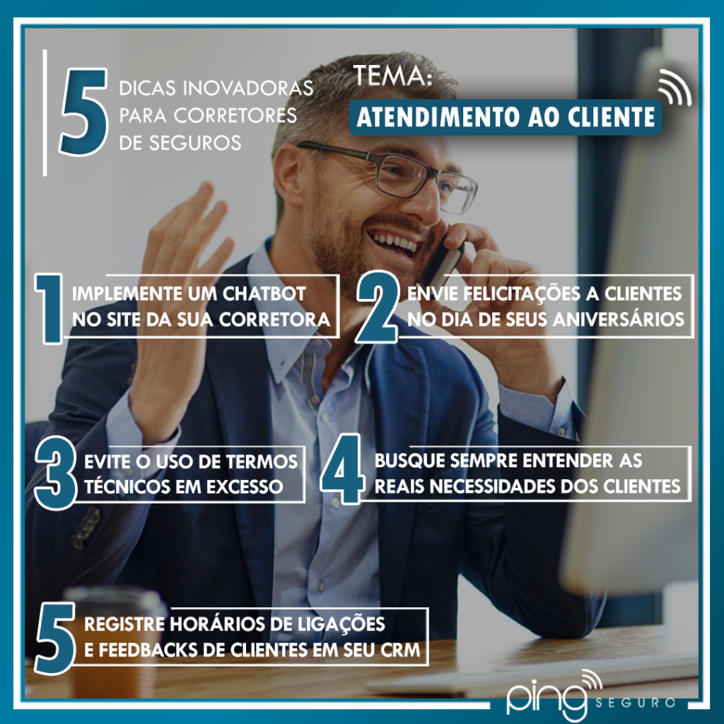 5 Dicas – Atendimento ao Cliente!